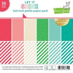 Набор бумаги для скрапбукинга Lawn Fawn LET IT SHINE 15х15см