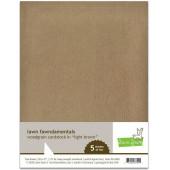 Набор бумаги с текстурой дерева Lawn Fawn WOODGRAIN CARDSTOCK LIGHT BROWN 21х27см