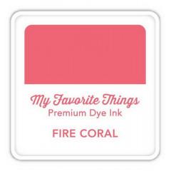 Чернильная подушечка My Favorite Things PREMIUM DYE INK CUBE FIRE CORAL