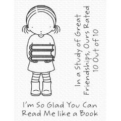 Набор штампов My Favorite Things PI READ ME LIKE A BOOK