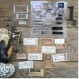 Набор штампов и ножей для вырубки MiMiCut БИЛЕТ НА БАЛЕТ