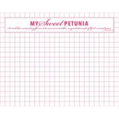 Сменный блок листов в клетку My Sweet Petunia MINI MISTI GRID PAPER PAD