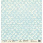 Лист бумаги для скрапбукинга MoNa design SEA коллекция Sea Party 30х30см