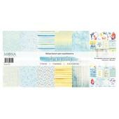 Набор бумаги для скрапбукинга MoNa design SEA PARTY 30x30см