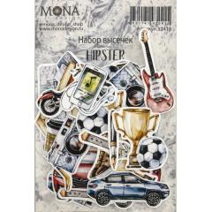 Набор высечек для украшения MoNa design HIPSTER
