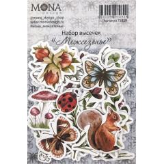 Набор высечек для украшения MoNa design МЕЖСЕЗОНЬЕ