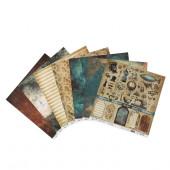 Набор бумаги для скрапбукинга Mr.Painter ФЕРРУМ 30х30см