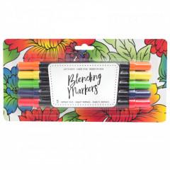 Набор маркеров на водной основе American Crafts BLENDING MARKERS Primary 5шт