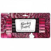 Набор маркеров на водной основе American Crafts BLENDING MARKERS Red Pink 5шт