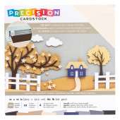 Набор кардстока гладкого American Crafts PRECISION CARDSTOCK Neutral 30х30см