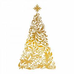 Штамп для тиснения фольгой Couture Creations ORNATE CHRISTMAS TREE
