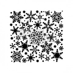 Трафарет The Crafter's Workshop SNOWFLAKES 15х15см