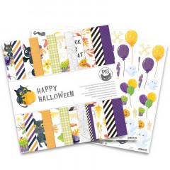 Набор бумаги для скрапбукинга P13 HAPPY HALLOWEEN 30х30см