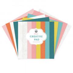 Набор бумаги для скрапбукинга P13 MAXI CREATIVE PAD GOOD NIGHT 30х30см