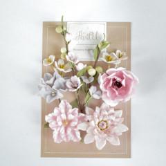Набор цветов Pastel Flowers ЦВЕТОЧНЫЙ БЛЮЗ розовый