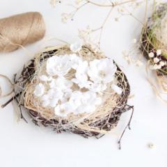 Набор цветов Pastel Flowers БЕЛЫЙ МИКС