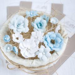 Набор цветов Pastel Flowers ГОЛУБОЙ МИКС