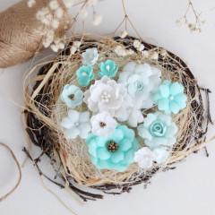 Набор цветов Pastel Flowers МЯТНЫЙ МИКС