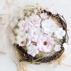 Набор цветов Pastel Flowers РОЗОВЫЙ МИКС