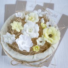 Набор цветов Pastel Flowers ЖЕЛТЫЙ МИКС