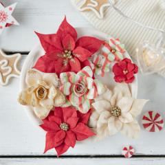 Набор цветов Pastel Flowers СКАЗОЧНАЯ ЗИМА красный