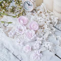 Набор цветов Pastel Flowers DIAMOND розовый