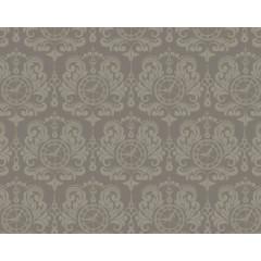 Ткань лоскутная TIMELESS серая с рисунком 50х55см