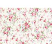 Ткань лоскутная Peppy PRINCESS ROSE 31265-20 50х55см