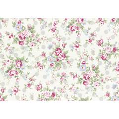 Ткань лоскутная Peppy PRINCESS ROSE 31265-90 50х55см