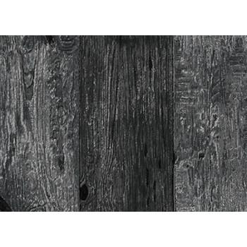 Ткань лоскутная Peppy 4507 PANEL WOODEN черная 60х110см