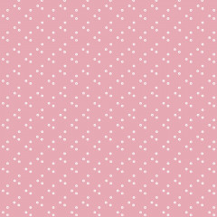 Ткань лоскутная Peppy 4512 ТОЧКИ розовая 50х55см