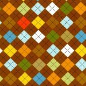 Ткань лоскутная Peppy REMIX CHOCOLATE коричневая 50х55см