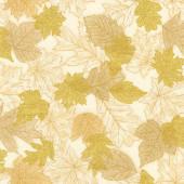Ткань лоскутная Peppy SHADES OF THE SEASON светлые листья 50х55см