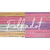 Лист бумаги для скрапбукинга Polkadot РОЗОВЫЙ коллекция Текстура 30х30см
