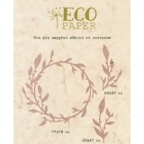 Нож для вырубки EcoPaper ВЕНОК ИЗ ЛИСТЬЕВ