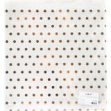 Прозрачный ацетатный лист с золотым фольгированием Polkadot В ГОРОШЕК 30х30см