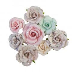 Набор цветов Prima Marketing SANTA BABY коллекция Sugar Cookie Christmas