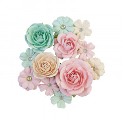 Набор цветов Prima Marketing PINK JOLLY коллекция Sugar Cookie Christmas