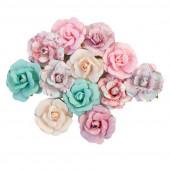 Набор цветов Prima Marketing LOVELY BOUQUET коллекция With Love