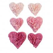 Набор украшений для скрапбукинга Prima Marketing ALL THE HEARTS коллекция With Love