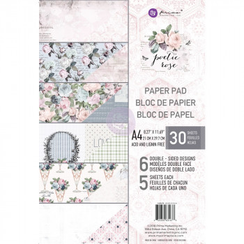 Набор бумаги для скрапбукинга Prima Marketing PRETTY PALE А4