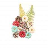 Набор цветов Prima Marketing SECRET GARDEN коллекция Midnight Garden