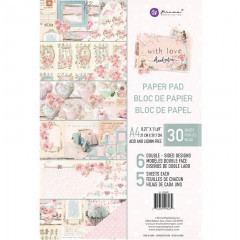 Набор бумаги для скрапбукинга Prima Marketing WITH LOVE A4