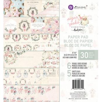 Набор бумаги для скрапбукинга Prima Marketing SUGAR COOKIE CHRISTMAS 20х20см