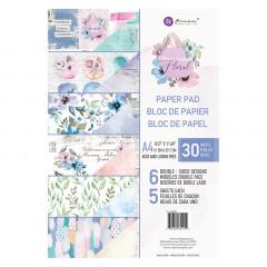 Набор бумаги для скрапбукинга Prima Marketing WATERCOLOR FLORAL A4