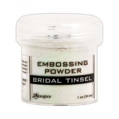 Пудра для эмбоссинга Ranger BRIDAL TINSEL белая