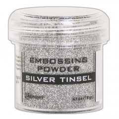 Пудра для эмбоссинга Ranger SILVER TINSEL серебряная