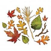 Набор ножей для вырубки Sizzix FALL FOLIAGE осенняя листва