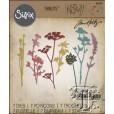 Набор ножей для вырубки Sizzix WILDFLOWERS дикие цветы