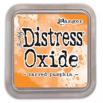 Чернильная подушечка Ranger DISTRESS OXIDE PAD CARVED PUMPKIN